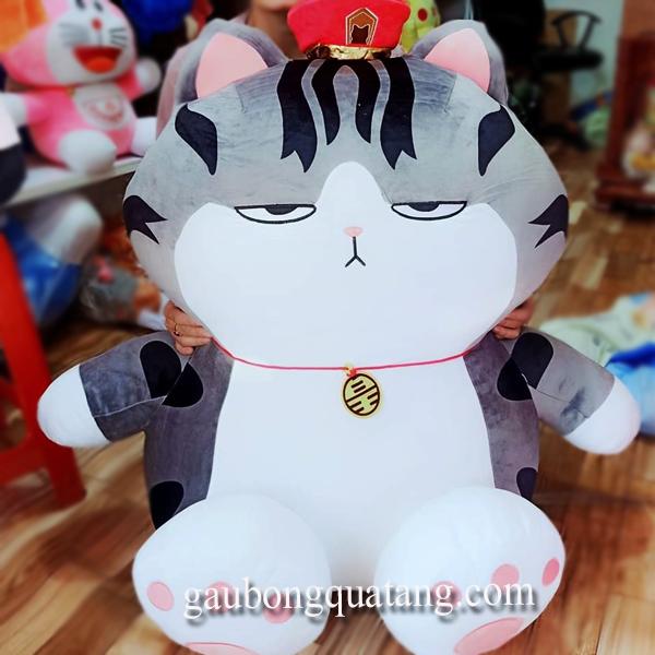 Gấu Bông Mèo Hoàng Thượng Chân To. - 4